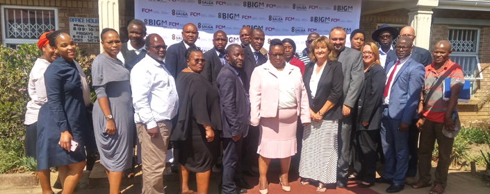 Group photo at Mbizana municipal office