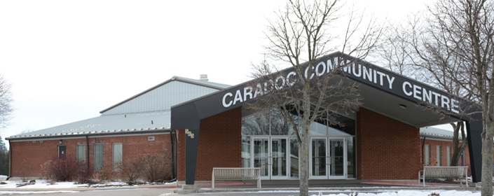 Exterior of Caradoc Community Centre
