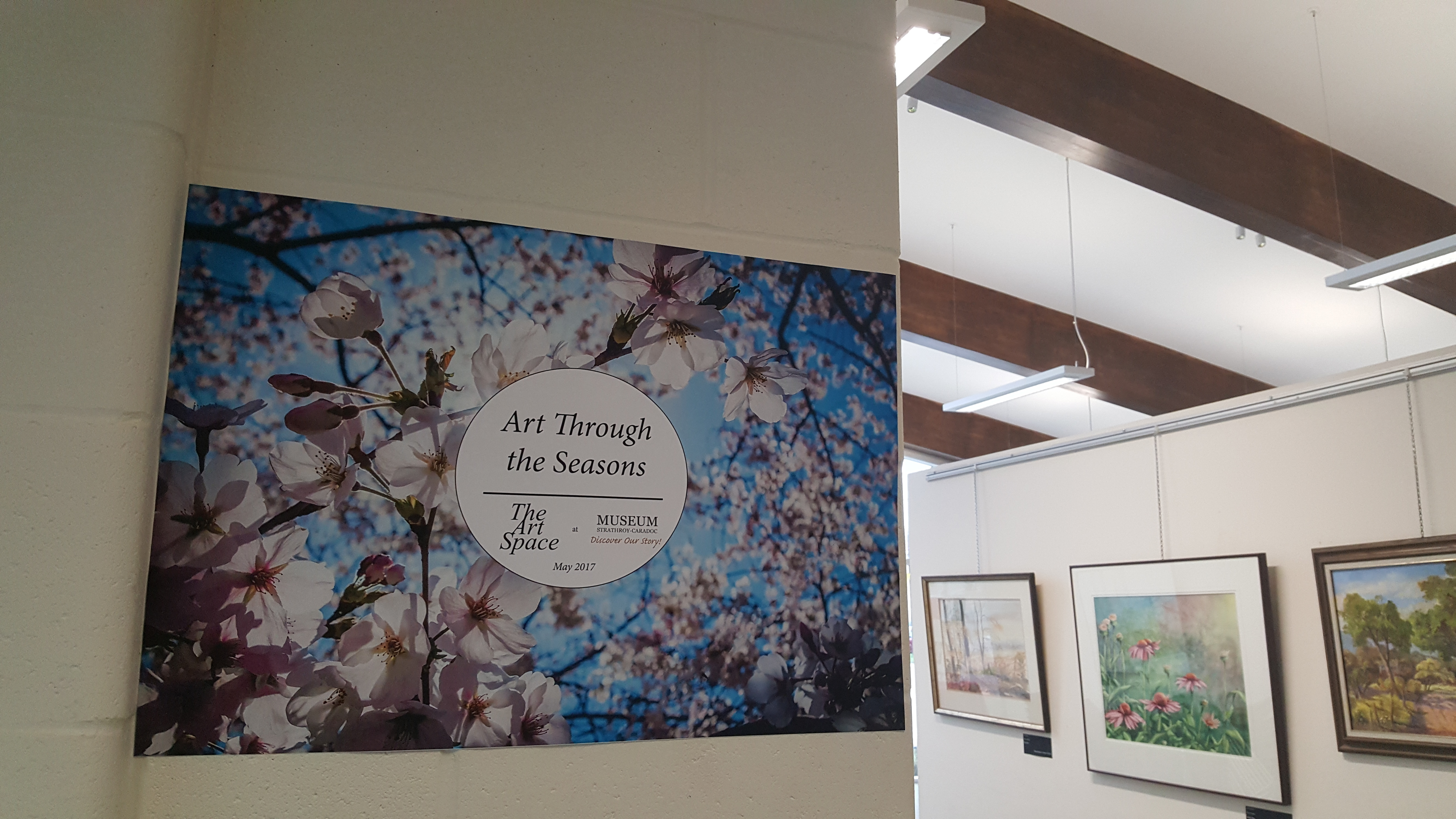 Art Through The Seasons - The Art Space May 2017