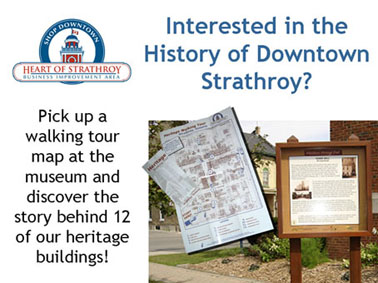 Interested in the History of Downtown Strathroy?